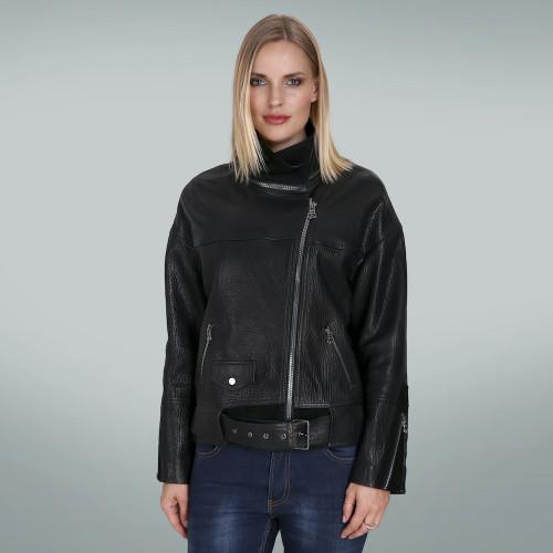 Women's Black collar jacket