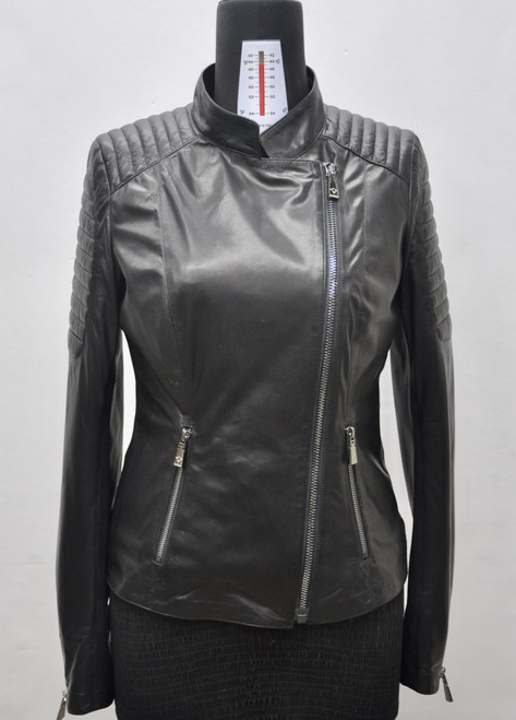 Women's Black Croc Jacket