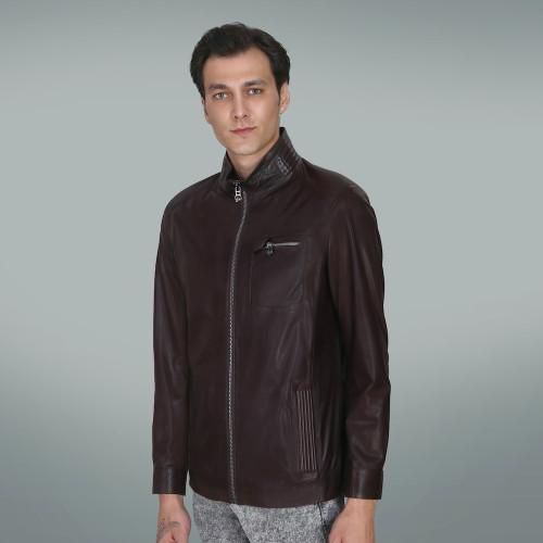 Men's Black Bomber Jacket