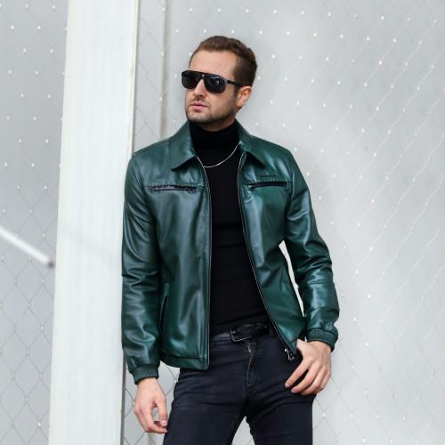 Men's Dark Green Jacket