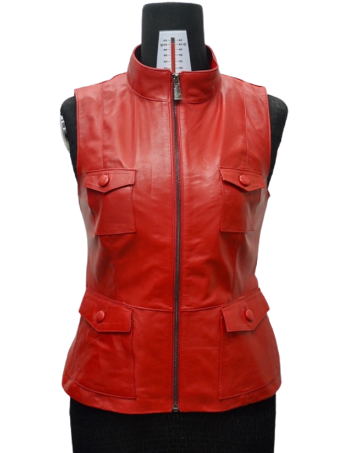 Women's Red Vest