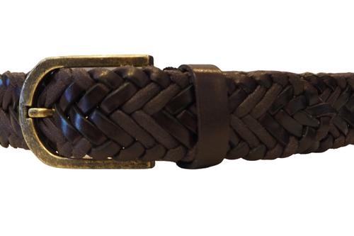 Woven Dark Brown Belt