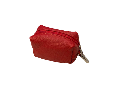 Small leather bags for coins