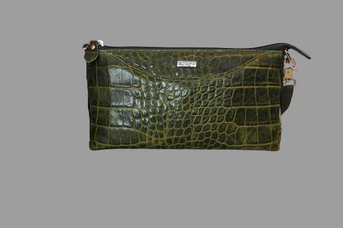 362 Green Croc Bag