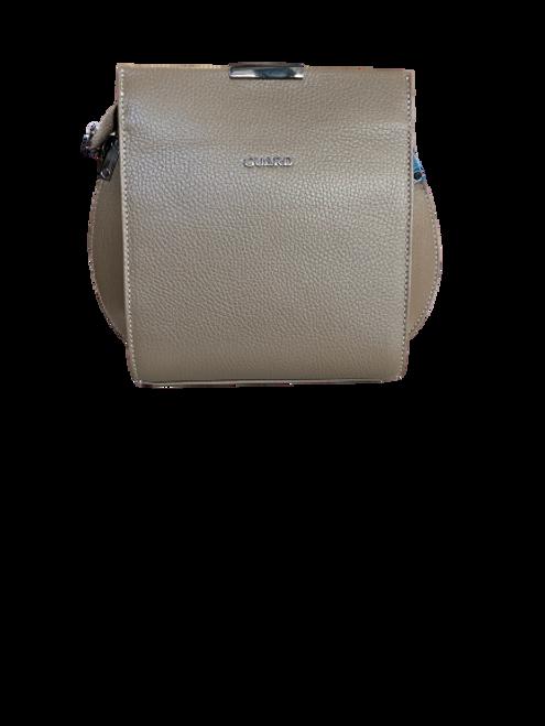 614 Grey Leather Bag