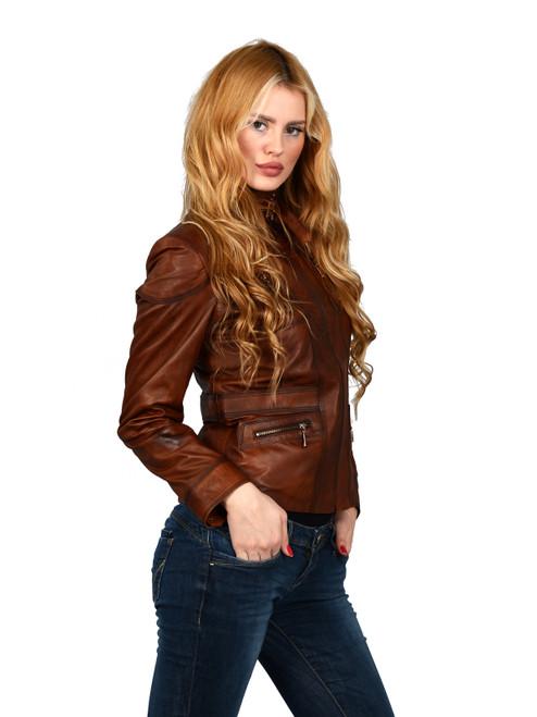 Women's Brown Jacket Ho