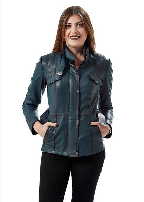 Women's Light Blue Jacket Ho