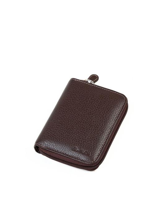 819 Men' Wallet Dark Brown