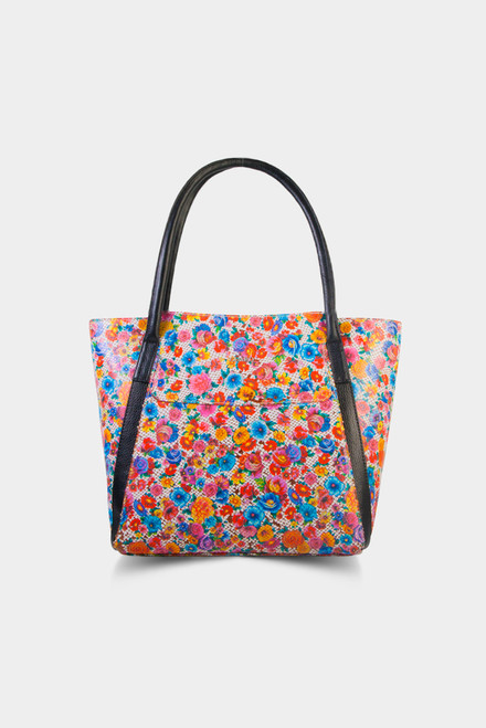 594 Women's Floral Leather Bag