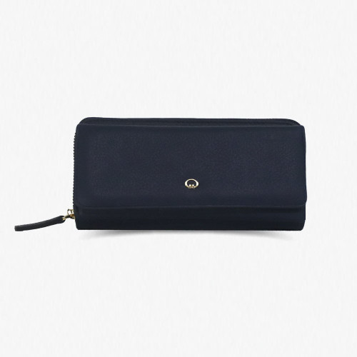 1263 Women's Black leather wallet