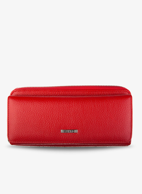 1263 Women's Red leather wallet