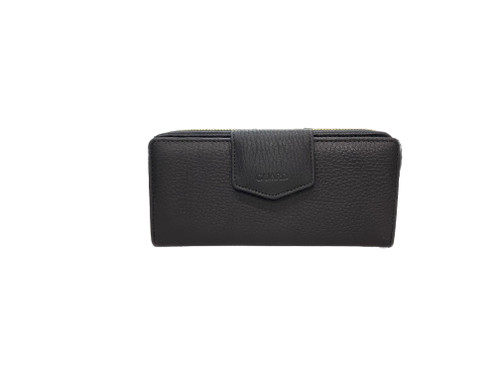 2214 Women's Black leather wallet