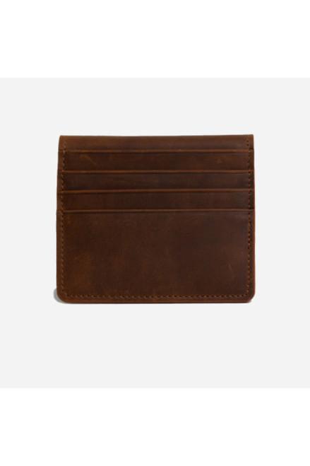 5239 Men's hazelnut color leather wallet