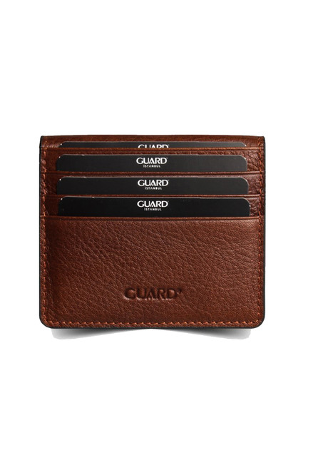 5239 Men's brown leather wallet