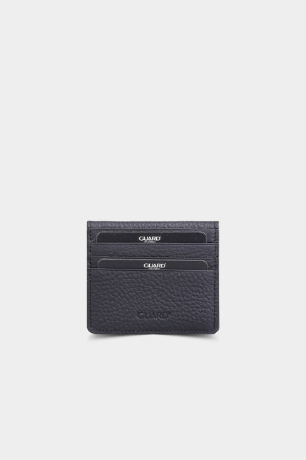 5239 Men's black leather wallet