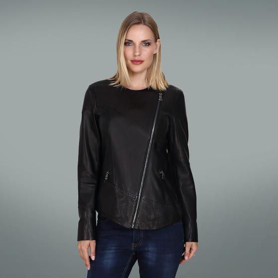 Women's Black Sew Jacket