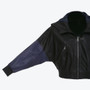 Women's Black Parlamento Jacket Hoody