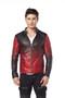 'Men''s Black Reversible Leather Jacket Ho'