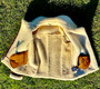 Women's Brown Natural Shearling Jacket