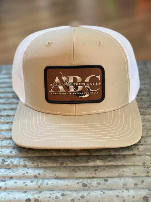 ABC Patch Hat - Khaki/White