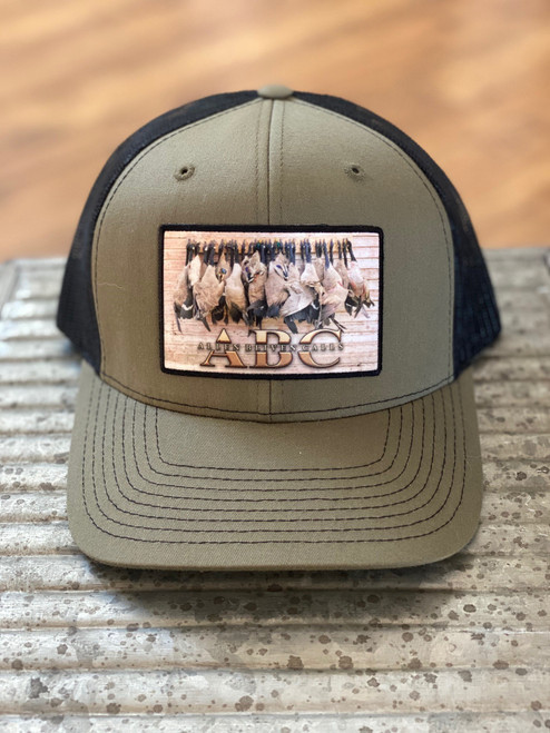 ABC Geese Patch Hat - Loden/Black