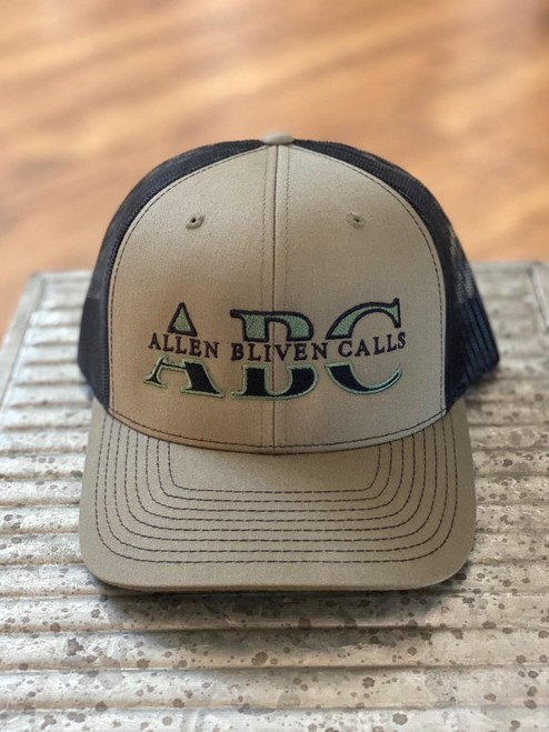 ABC Embroidered Logo Hat - Loden/Black