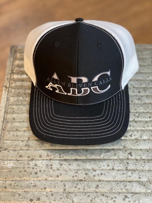 ABC Embroidered Logo - Black/White