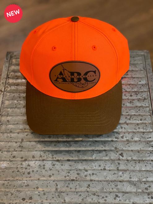 ABC Leather Patch Hat - Blaze/Buck