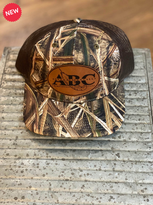 ABC Leather Patch Hat - Mossy Oak Shadow Grass Blades
