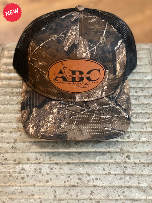 ABC Leather Patch Hat - Realtree Timber