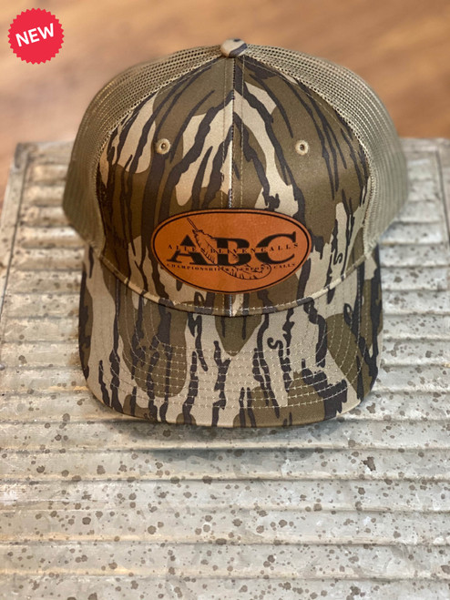 ABC Leather Patch Hat - Mossy Oak Bottomland