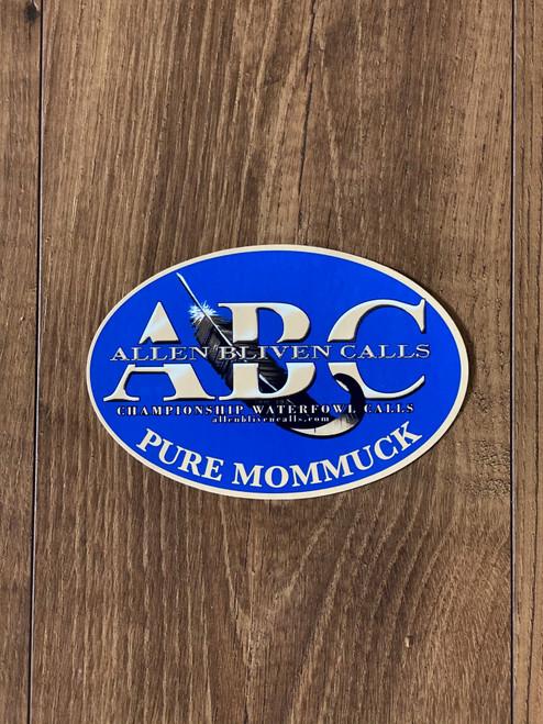 ABC Oval Sticker
