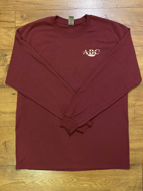 ABC Flag Long Sleeve T-Shirt - Heather Maroon