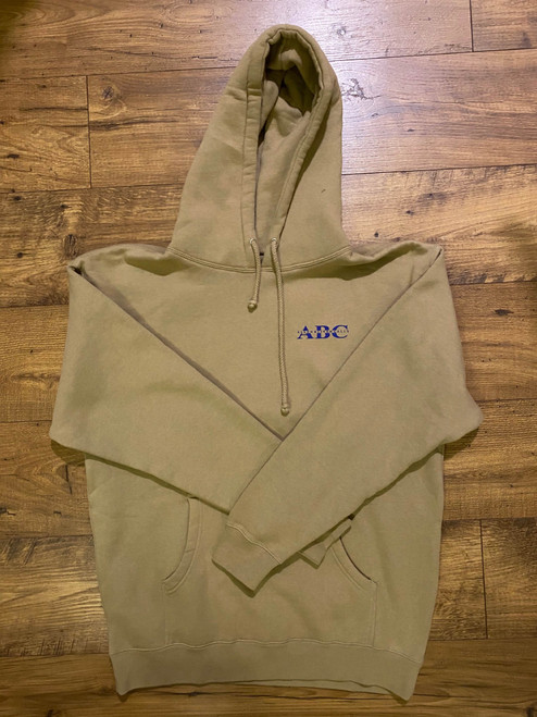 ABC Blue Call Hoodie - Tan