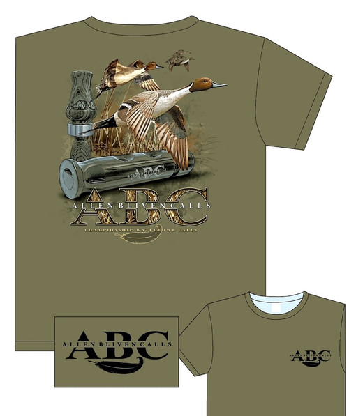 ABC Pintail Hoodie - Army Heather Green