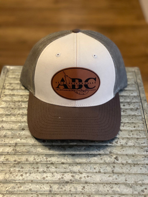 ABC Leather Patch Hat - Tan/Loden/Brown