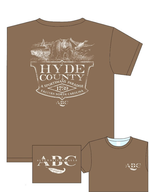 ABC Hyde County Short Sleeve T-Shirt - Brown Savana