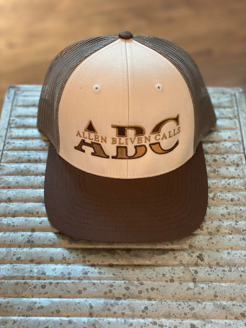 ABC Embroidered Logo Hat - Tan/Loden/Brown