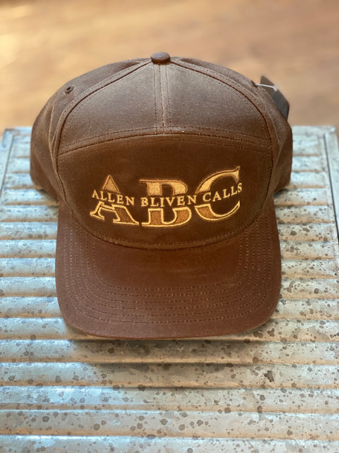 ABC 7-Panel Waxed Cotton Embroidered Logo - Buck