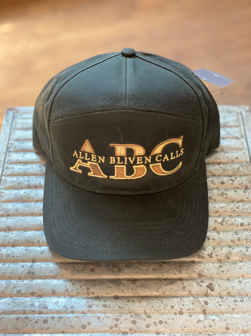 ABC 7-Panel Waxed Cotton Embroidered Logo - Dark Olive