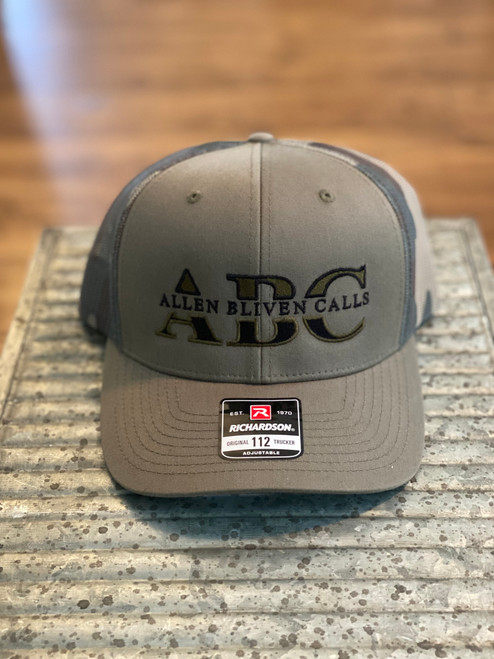 ABC Embroidered Logo Hat - Loden/Green Camo