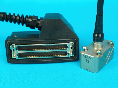 5 MHz, 64 element, Type 12 PAUT Probe with ZPAC Connector