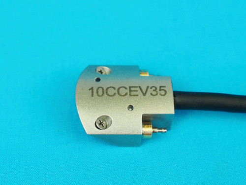 A-10CCEV35-32-15-25I, PAUT Probe, 10 MHz, CCEV at 35 mm, 32 elements, Type 15 housing, IPEX connector, 2.5 meter cable