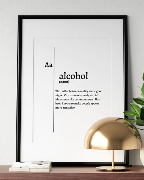 Defined Prints - Alcohol