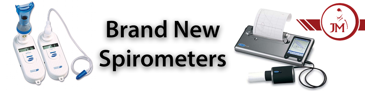 Jaken Medical New Spirometers