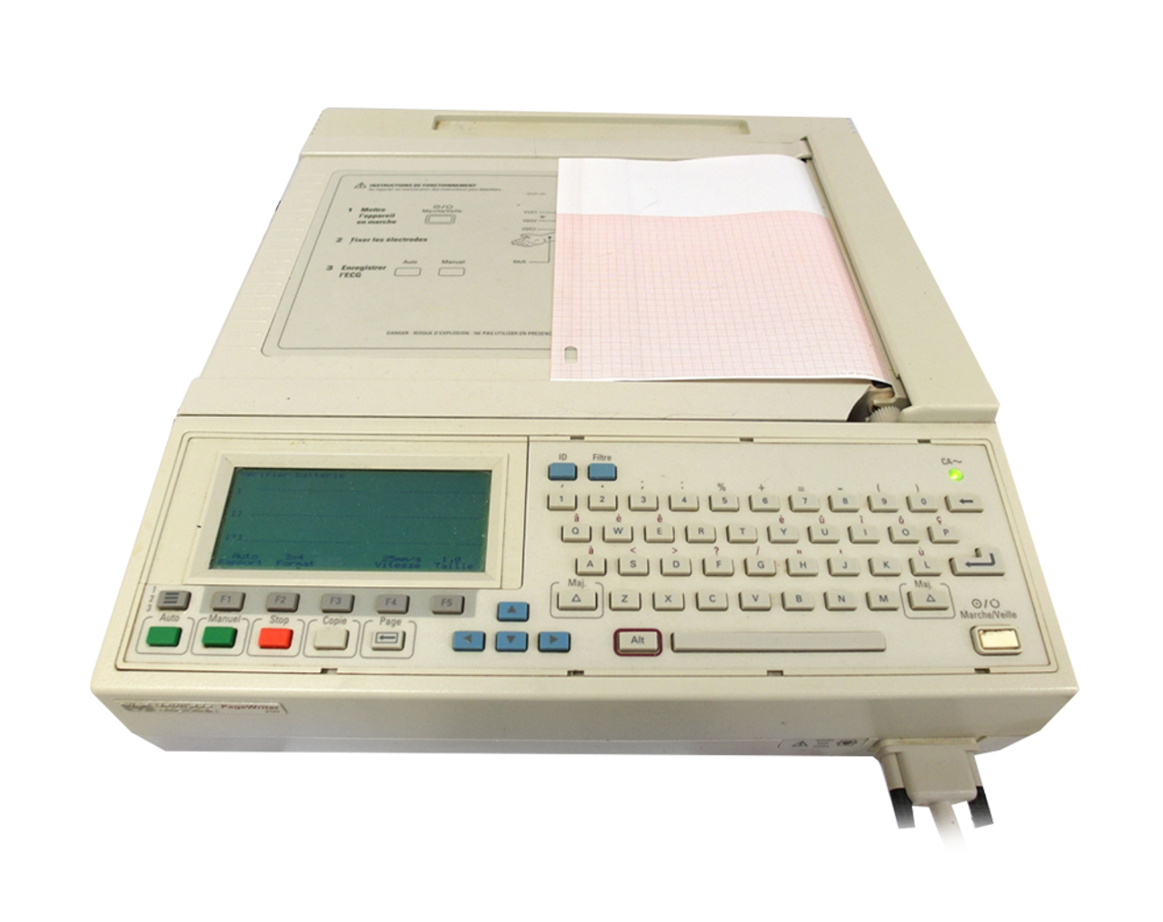 Philips HP Pagewriter 200 EKG System Rental - Jaken Medical Inc