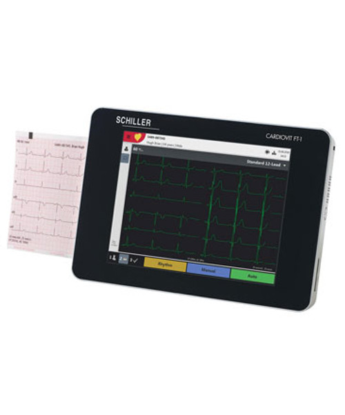 Schiller Cardiovit FT-1 EKG System
