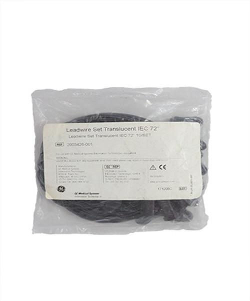 GE Translucent Leadwire Set (2003426-001)