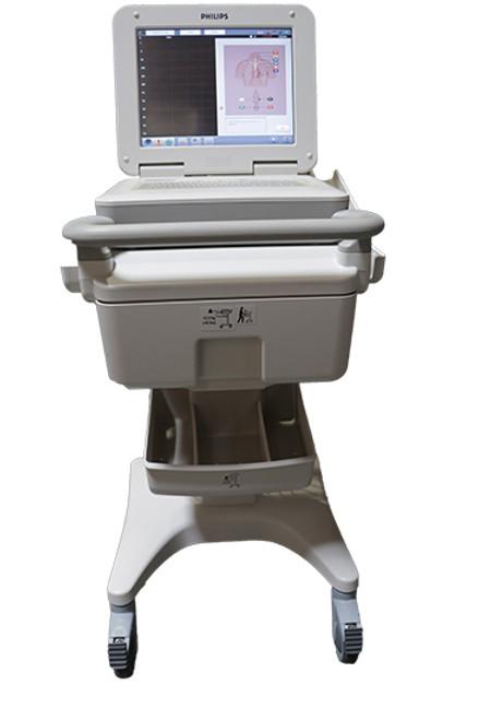 Refurbished Philips Pagewriter TC70 ECG Machine w/ Cart