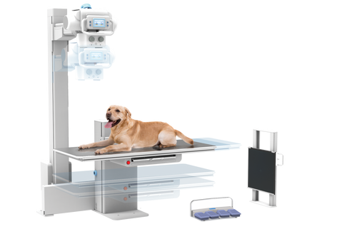 MyVet Table i72W Complete Veterinary X-Ray System (MyVet-i72W)